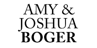 Amy and Joshua Boger