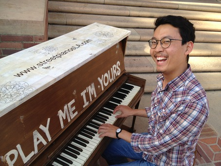 Annenberg Community Beach House on Street Pianos   Royce Hall  Ucla