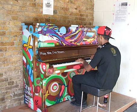 Street Pianos Herne Hill