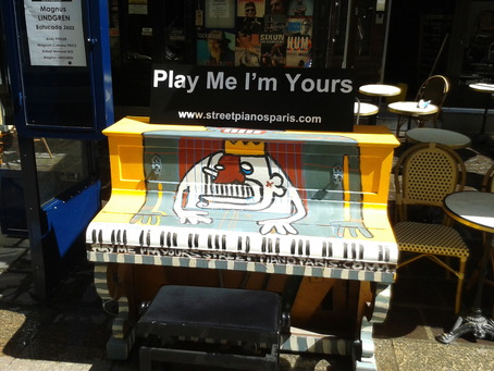 Street Pianos   Le Sunset (75001)