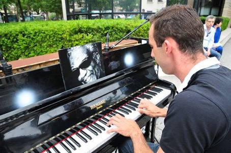 Street pianos espace landowski boulogne billancourt for Espaces verts boulogne billancourt